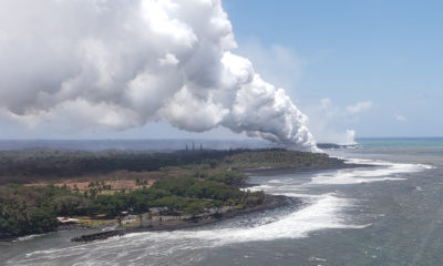 VIDEO: 7 am Eruption Update – Lava Flow Heads Towards Pohoiki