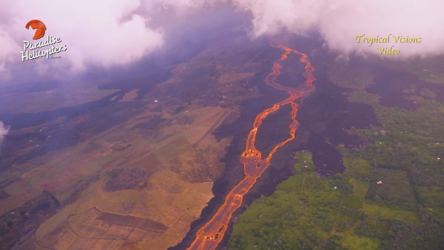 10 am Eruption Update – Ocean Explosions, Lava 0.6 Miles From Pohoiki
