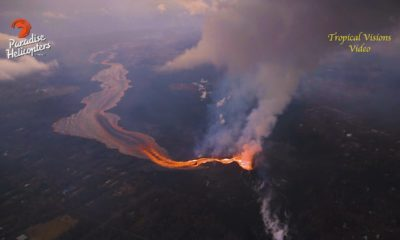 VIDEO: 7 am Eruption Update – Eyes On Explosive Ocean Entry