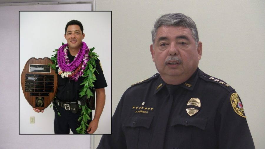 VIDEO: Police Chief Speaks After Officer Kaliloa Killed In Line Of Duty