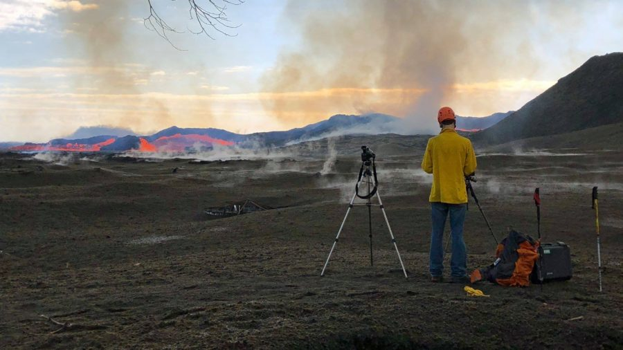 VIDEO: 5 pm Eruption Update – Lava 0.3 Miles From Pohoiki Boat Ramp