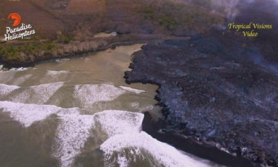 VIDEO: 7 am Eruption Update – Pohoiki Lava, Volcano Cracks