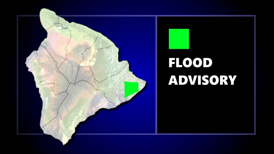 Flood Advisory Issued For Puna