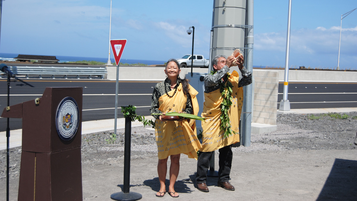 a3952f2f68a Queen Kaahumanu Highway Widening Celebrated In Kona
