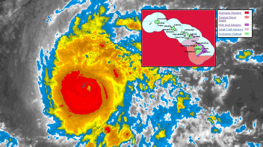 Hurricane Lane Could Threaten Portions Of Hawaii