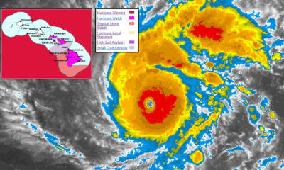 Hurricane Watch Issued For Hawaii Island As Lane Approaches