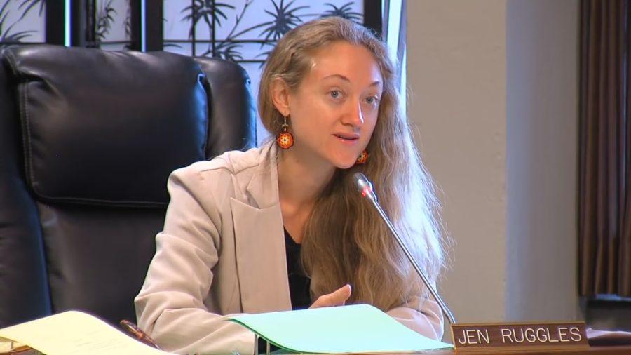 Councilwoman Ruggles Unassured By County Regarding War Crimes