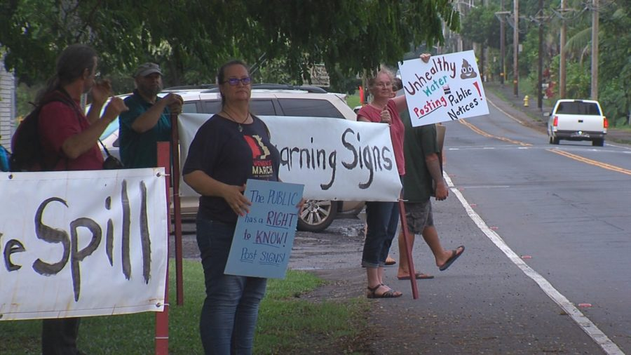 VIDEO: No Warning Signs For Polluted Water, Residents Upset