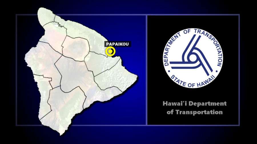 HDOT: Full Closure Of Route 19 In Papaikou Monday For Repairs