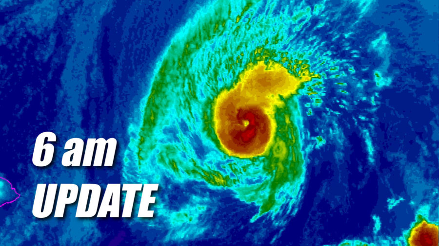 VIDEO: Tropical Storm Warning Issued Due To Hurricane Olivia