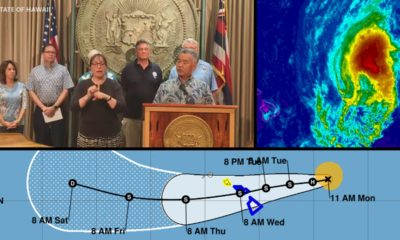 VIDEO: Closures Announced As Hawaii Officials Prepare For Olivia
