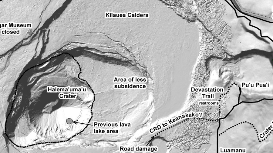 Hawaii Volcanoes National Park Produces Reopening Map