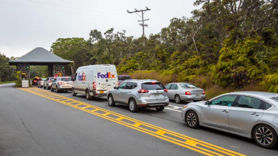 Hawaii Volcanoes National Park: Long Lines, Limited Parking Expected