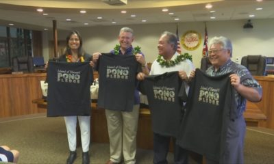 VIDEO: For Responsible Tourists, Officials Announce Pono Pledge
