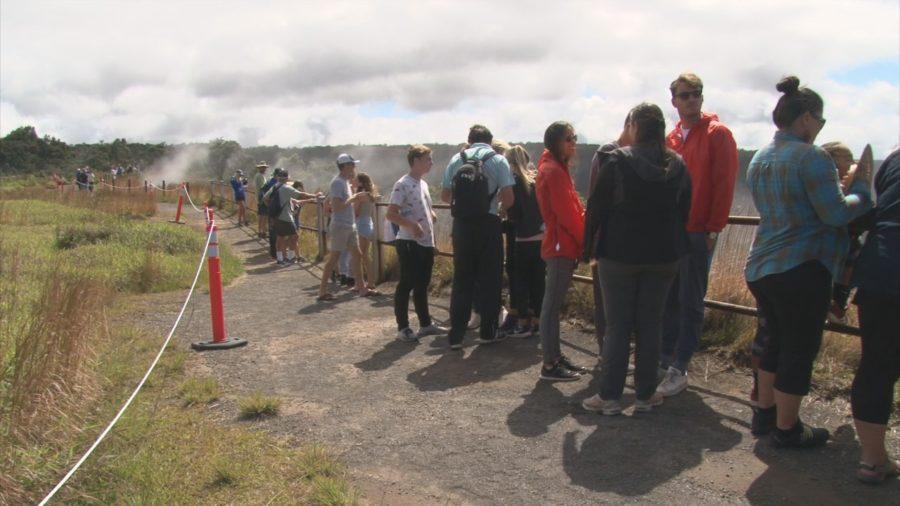 VIDEO: Visitors Crowd Reopened Hawaii Volcanoes National Park