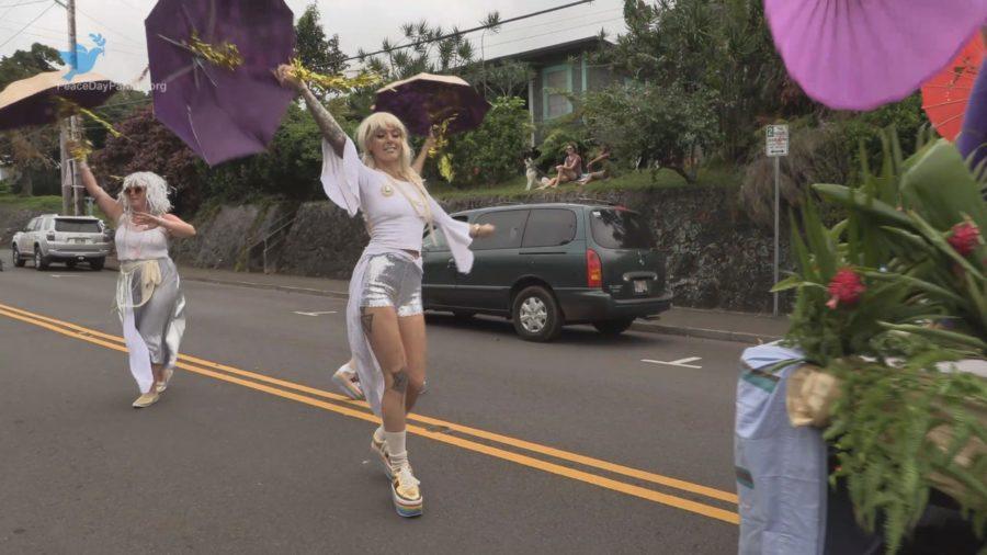 VIDEO: Peace Day Parade Held In Honokaa