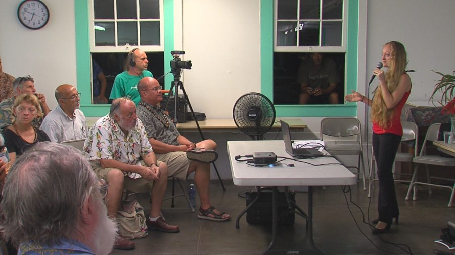 VIDEO: Jen Ruggles Holds Community Meeting On War Crimes