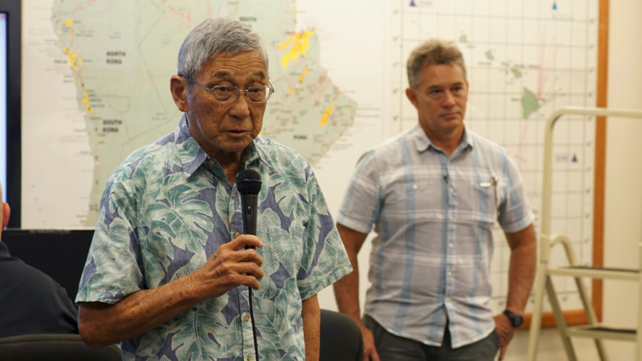 Mayor Thanks FEMA For Disaster Assistance During Eruption, Hurricane