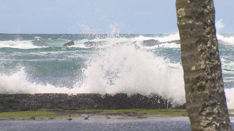 VIDEO: Hurricane Norman Brings High Surf, Beaches Closed