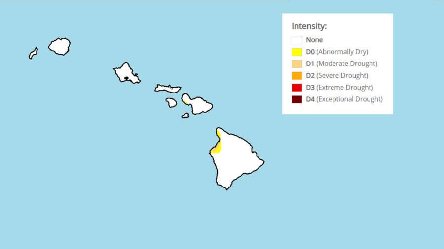 Wet September Eliminates Severe Drought In Hawaii