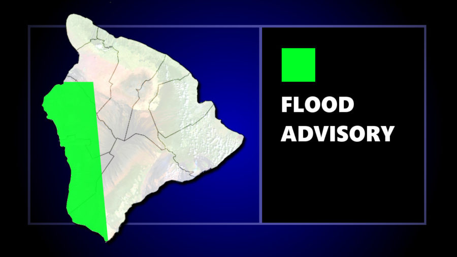 Flood Advisory Continues For West Hawaii