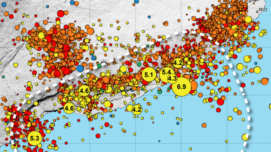 VOLCANO WATCH: Magnitude 6.9 Quake Aftershocks Continue, Months Later