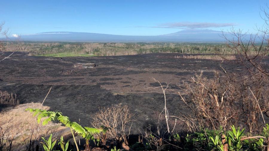 Volcanic Ash Leachate, Rainwater Chemistry From Kilauea Eruption Studied