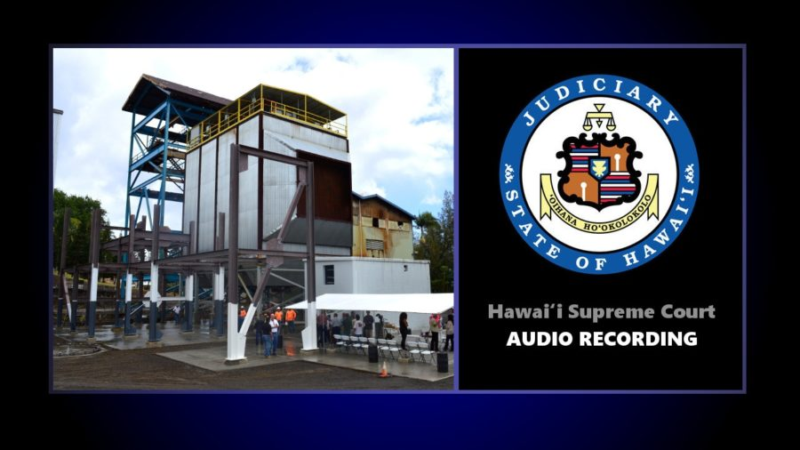 VIDEO: Hawaii Supreme Court Hears Hu Honua, Climate Change Arguments