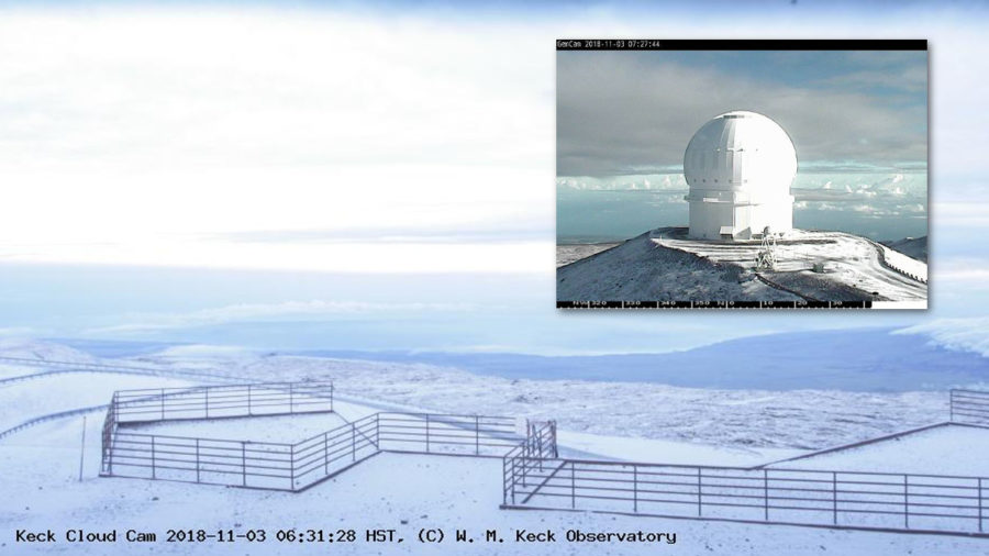 Winter Weather Advisory For Hawaii Summits, Snow On Ground