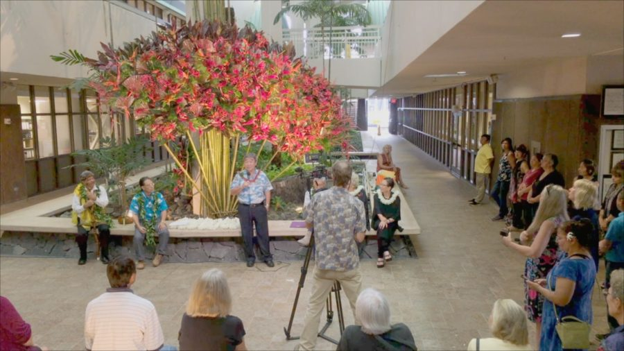 VIDEO: Floral Art In Hilo Honors Gannenmono