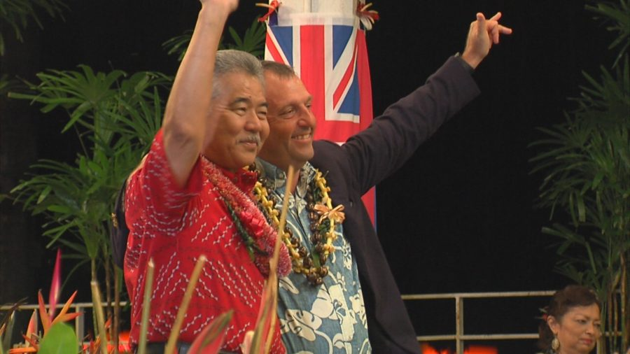 David Ige Reelected Governor, With Josh Green As Lieutenant Gov