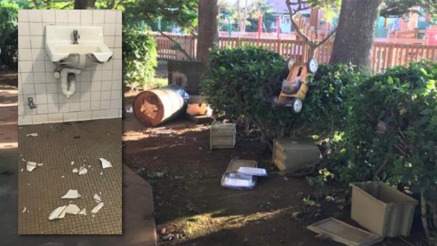 Waimea Park Bandstand Closed After Vandalism