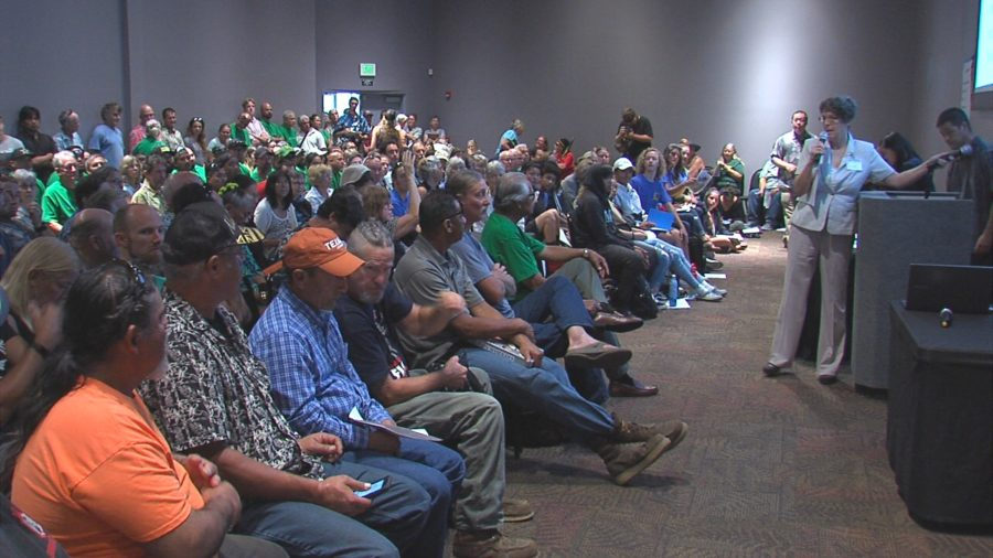 VIDEO: Heated Back And Forth Before Hu Honua Hearing
