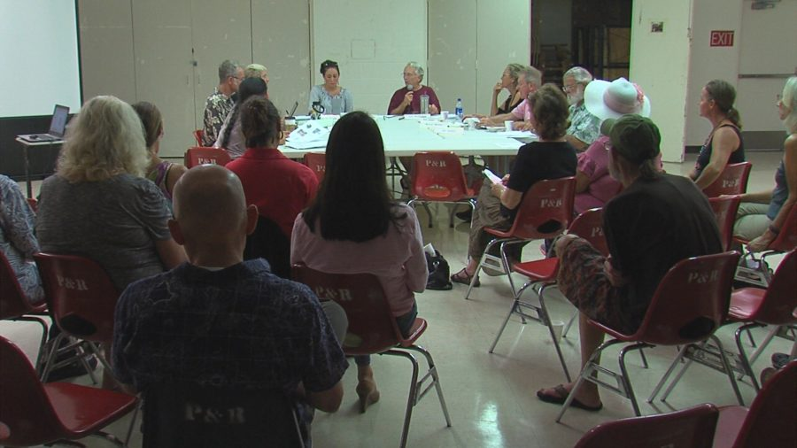 VIDEO: Volcanic Eruption Recovery Discussed At Puna CDP Meeting