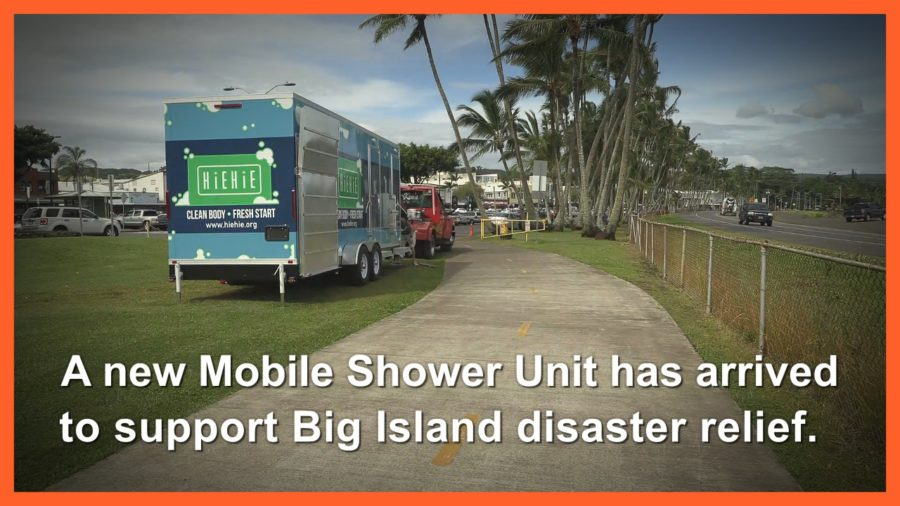 VIDEO: Mobile Shower Unit Arrives To Support Hawaii Disaster Relief