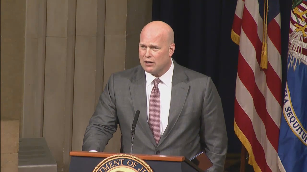 Robert Mueller Breaks Silence on Matthew Whitaker's Designation as Acting Attorney General