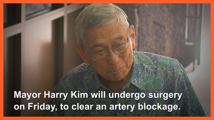 VIDEO: Mayor Kim To Undergo Surgery, Still Testifies