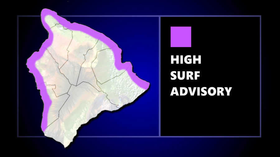 High Surf Advisory For Big Island As Huge Surf Hits Other Islands