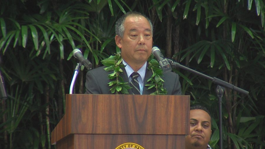 VIDEO: Eruption Recovery Top Priority For New Council Chair Chung