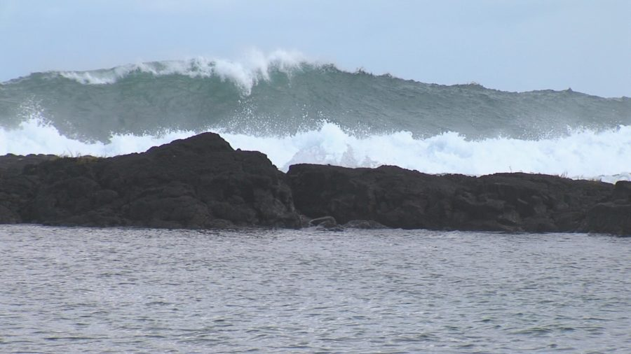 VIDEO: Civil Defense Issues Message On High Surf Warning