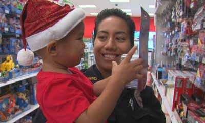 VIDEO: Eruption Survivors Shop With A Cop In Hilo