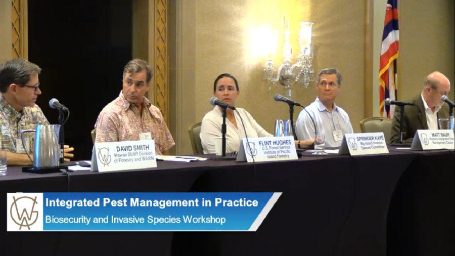 VIDEO: Invasive Species Talks Held Before Western Governors' Meeting