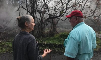 VIDEO: Ag Secretary Sonny Perdue Visits Eruption Site In Leilani Estates