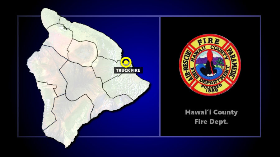 Liquid Nitrogen Trailer Fire Extinguished In Hilo