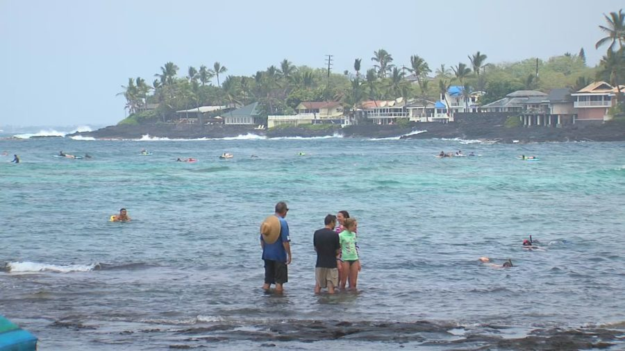 Motionless Man Pulled From Water By Lifeguards At Kahaluu Beach