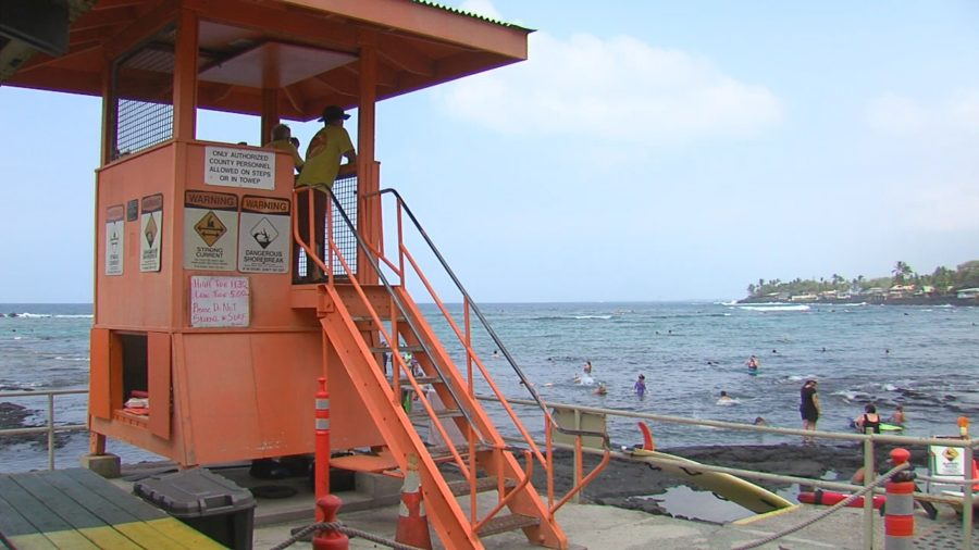 High Bacteria Count Posted At Kahaluu Beach Park