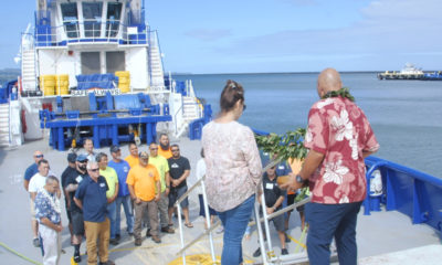 VIDEO: New Tugboat, Kapena Raymond Alapa'i, Arrives In Hilo