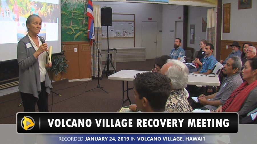 VIDEO: Volcano Village Talks Economic Recovery