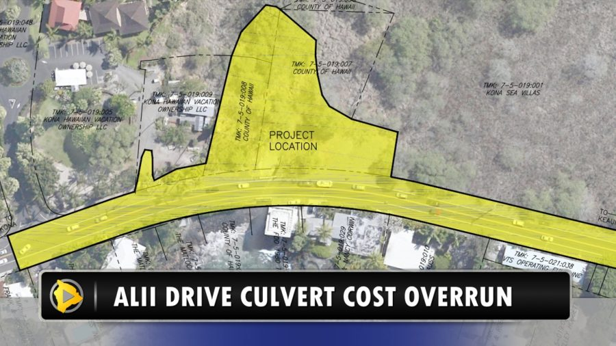 VIDEO: Alii Drive Culvert Cost Overrun Explained
