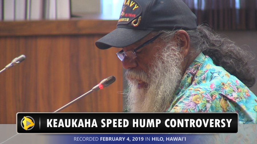 VIDEO: Council Withdraws Ask For DHHL Speed Hump Reimbursement